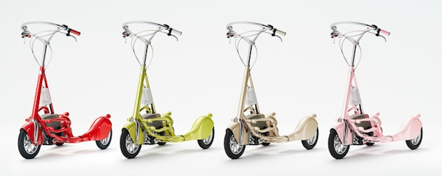 walking bicycle japan electric bike scooter hara kenya shuwa tei designer vehicle wbc
