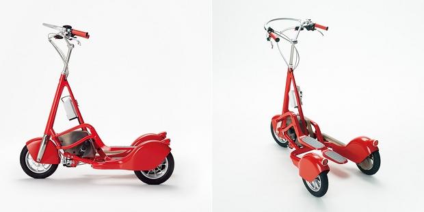 walking bicycle japan electric bike scooter hara kenya shuwa tei designer vehicle wbc