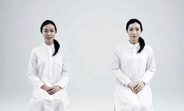 kodomoroid otonaroid teleroid android robots japanese hiroshi ishiguro miraikan tokyo uncanny valley creepy