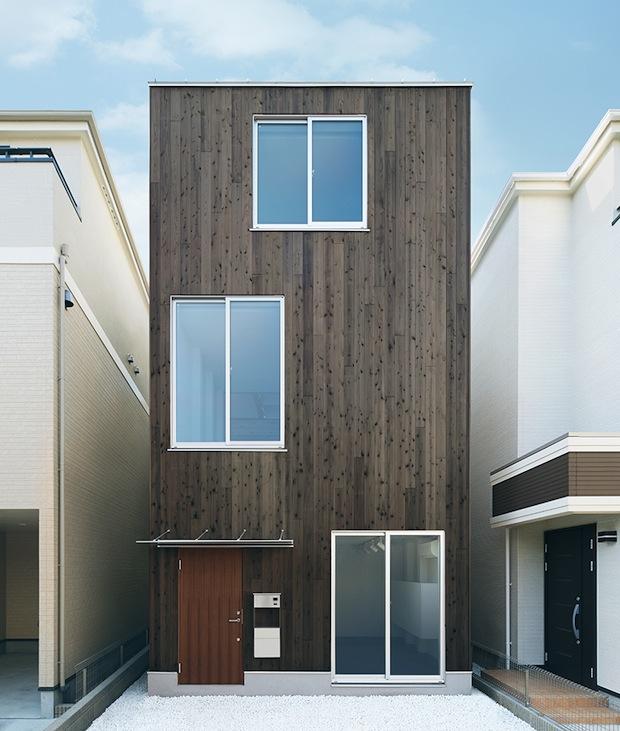 muji house tate no ie vertical home