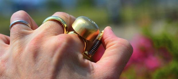 runbell running jogger finger bell sport