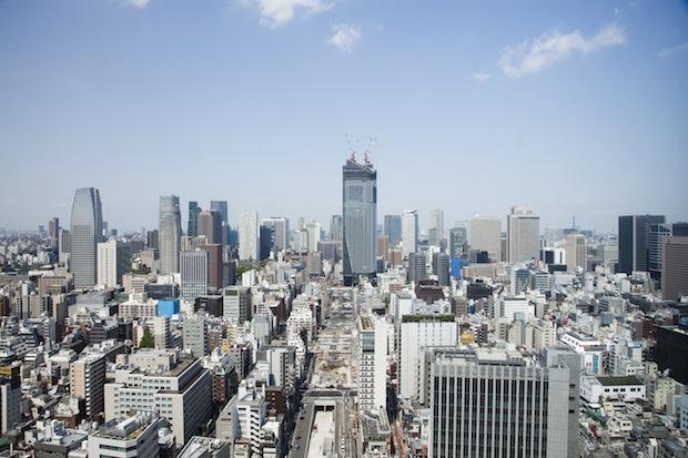 toranomon hills skyscraper mori tokyo