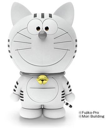 toranomon hills mori mascot tiger robot fujiko pro doraemon