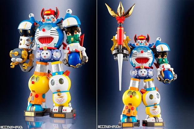 chogokin chogattai sf robot fujiko f fujio model bandai tamashii toy doraemon