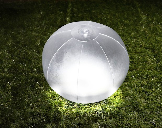 Green House Beach Ball Inflatable Waterproof LED Solar Lantern lamp light