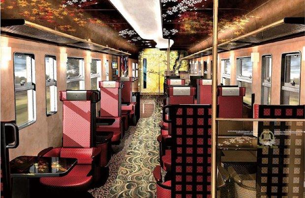 jr west wakura onsen kanazawa tourism sightseeing train lacquerware wajima kaga yuzen crafts traditional design
