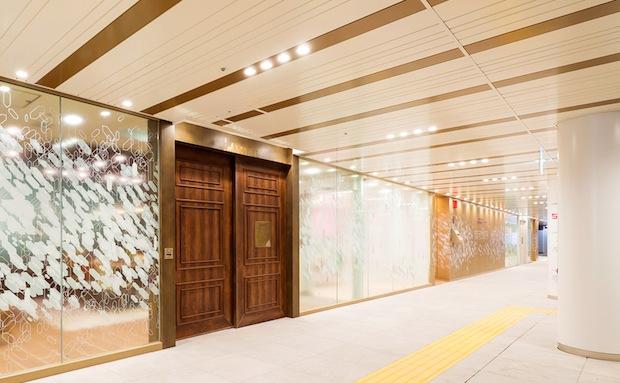 shibuya chikamichi lounge tokyu space station underground