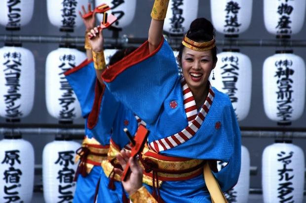 super yosakoi tokyo dance contest