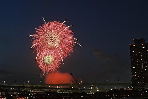 tokyo fireworks displays