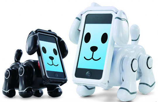 bandai smartpet smart pet iphone ipod dog robot