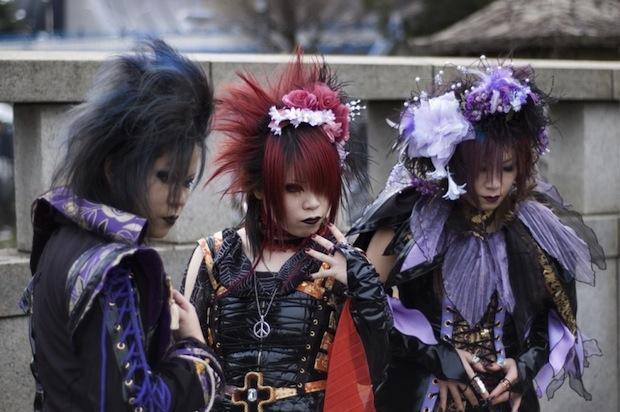 harajuku japan tokyo goths cosplay