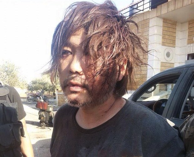 japanese photographer doctor captured prisoner isis syria aleppo haruna yukawa fighter