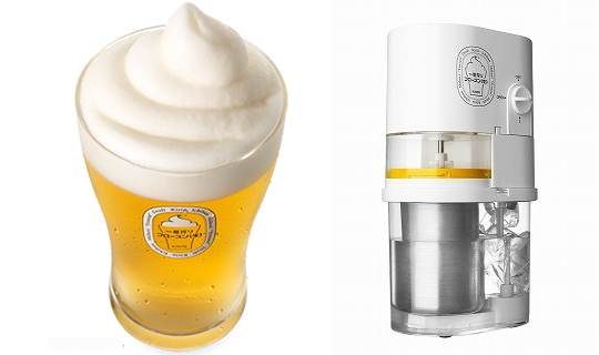 kirin ichiban frozen beer slushie maker japan
