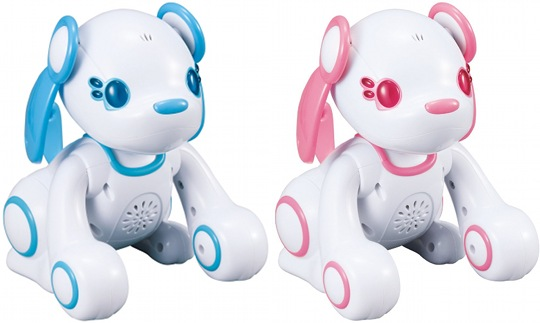 sega toys poochi heart energy robot dog pet
