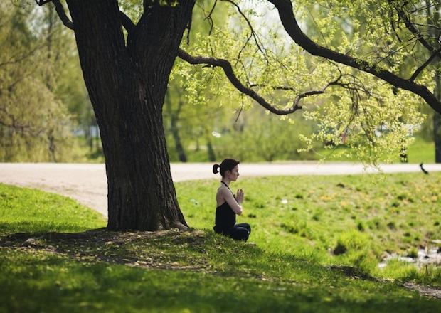 yoyogi park yoga