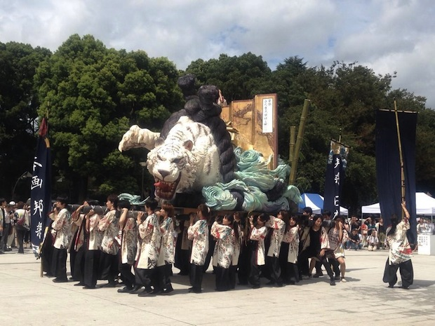 geisai tokyo university of the arts student festival floats