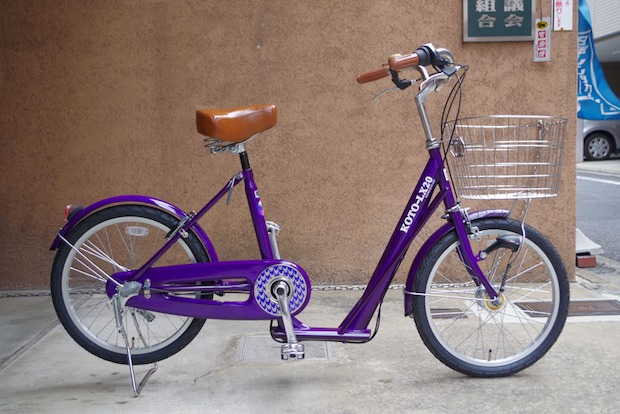 kyoto kimono bicycle koto lx 20 bike wear traditional clothes japan cyclists