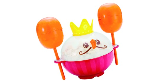 maracas de popcorn japan food cooking toy musical instrument