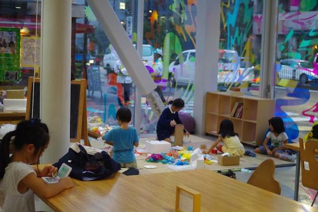 shibaura house kazuyo sejima community space tokyo workshops