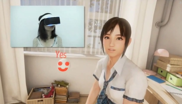 sony summer lesson project morpheus demo hmd tokyo game show 2014 cancel creepy