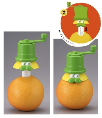 takara tomy gurefuru chuchu toy fruit juice maker