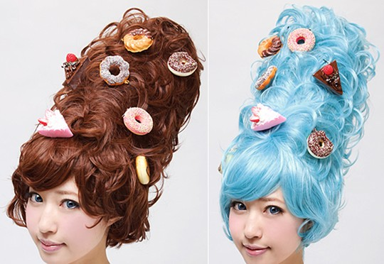 pop candy japanese wig harajuku fashion cosplay street style