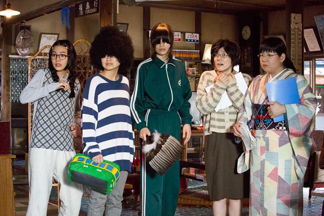 princess jellyfish kuragehime film live action movie manga higashimura akiko renna nouen exhibition shibuya parco museum