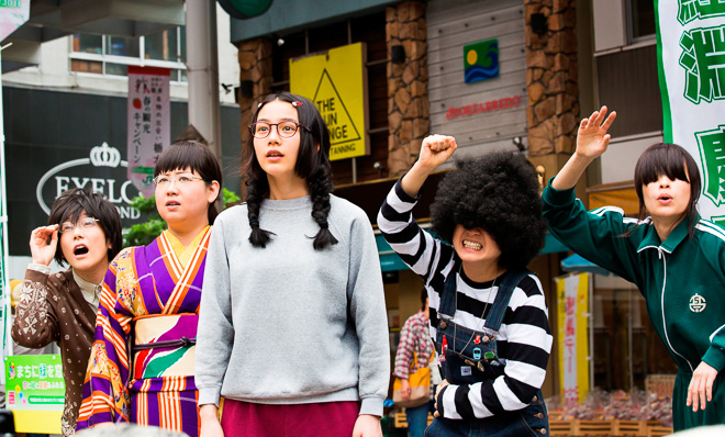princess jellyfish kuragehime film live action movie manga higashimura akiko rena nouen exhibition shibuya parco museum