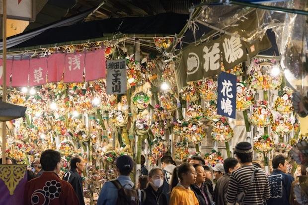 asakusa tori no ichi festival