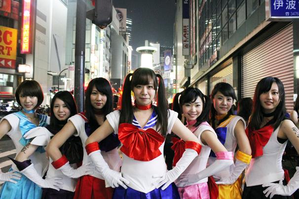 halloween costume cosplay shibuya tokyo october 31st 2014 sailor moon