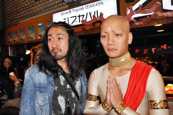 halloween costume cosplay shibuya tokyo october 31st 2014 jesus sento-kun