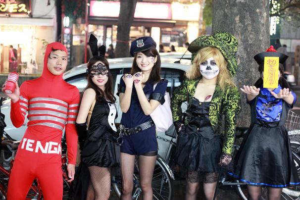 halloween costume cosplay shibuya tokyo october 31st 2014 tenga
