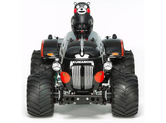 rc tractor kumamon macot bear tamiya toy