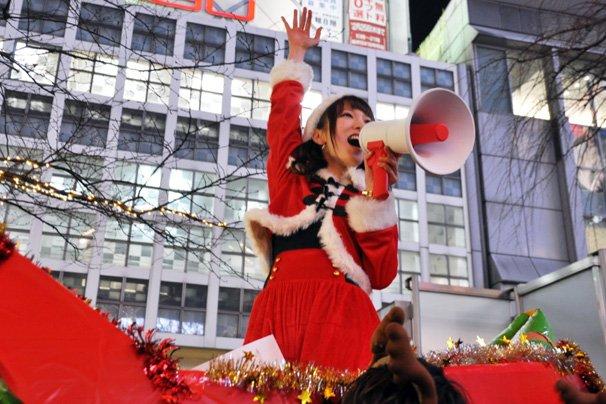 christmas eve japan tokyo shibuya misaki shimoda