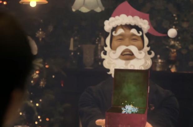 sync dinner au kddi hakuhodo christmas eve restaurant tokyo osaka virtual experience restaurant meal couples