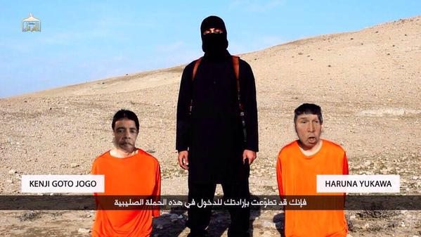 islamic state japanese hostages meme internet spoof