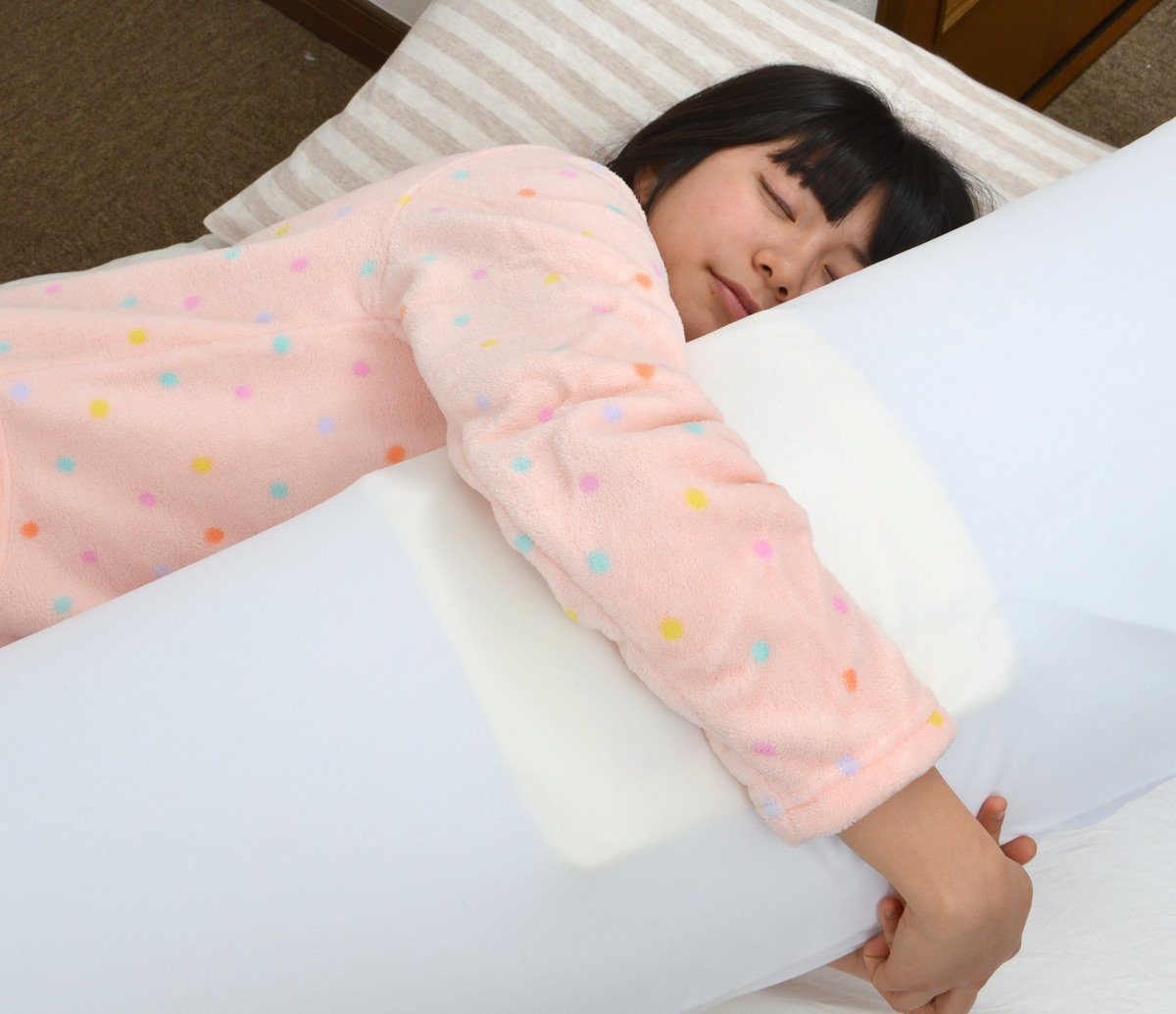 japan usb heated hug pillow thanko dakimakura