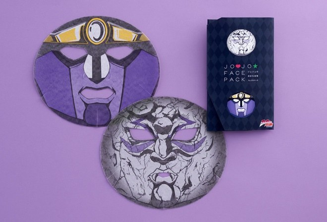 jojos bizarre adventure face pack beauty skin care tool