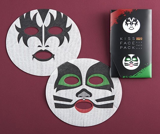 kiss face pack beauty mask japan
