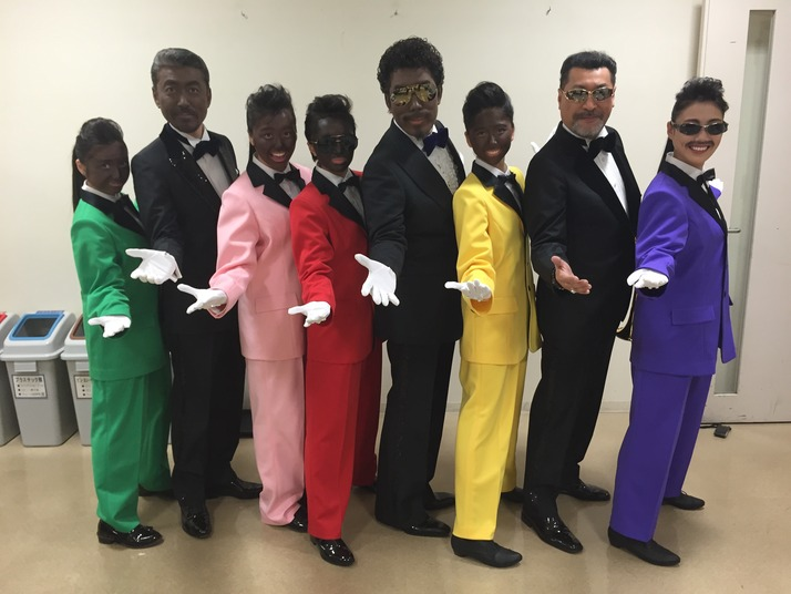 momoiro clover z blackface rats & star fuji tv racism japan