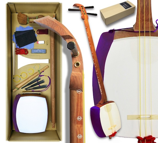 diy self assembly shamisen kit build customize own