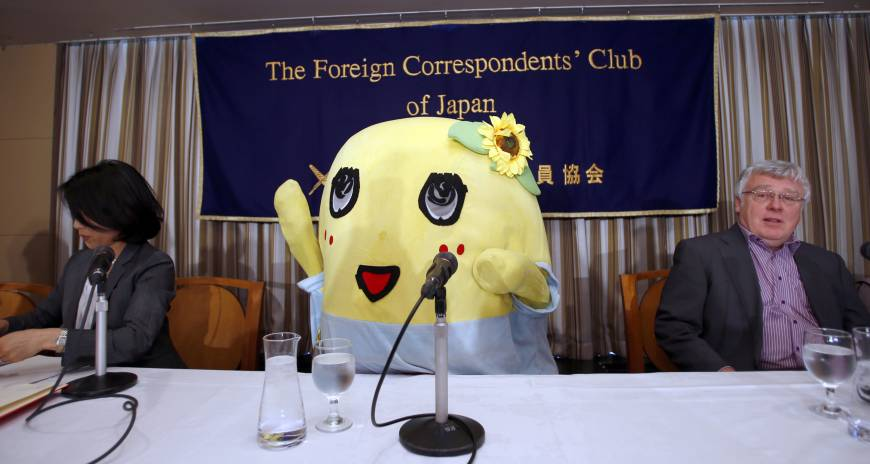 funassyi anime tv series nippon mascot character sukkiri japan foreign correspondents club japan