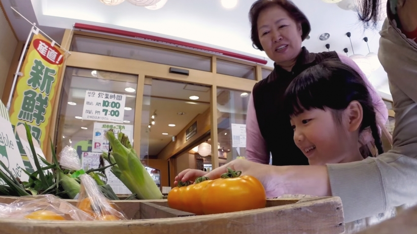 hakuhodo talkable vegetables talking produce farmer voice traceability supermarket suba lab hackist