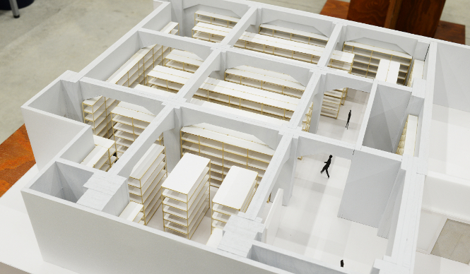 terada warehouse depot architecture model museum japan tokyo kenchiku soko