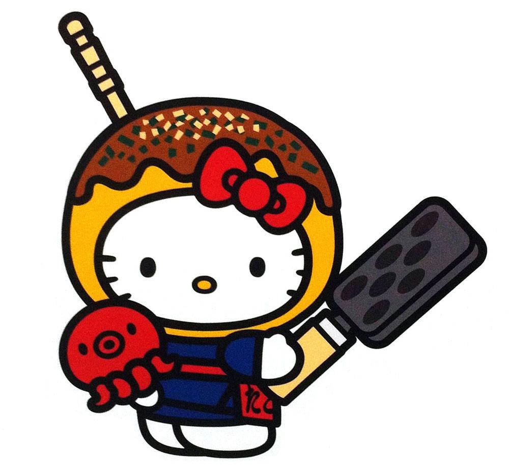 hello kitty exhibition fukoku mutual life insurance seimei museum regional character cosplay