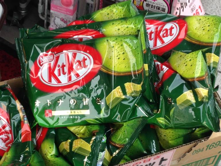 japanese unusual kit kat flavors
