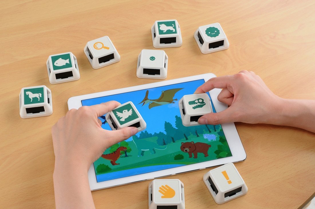 joujou cube touch digital interactive ipad toy kids children takara tomy japan