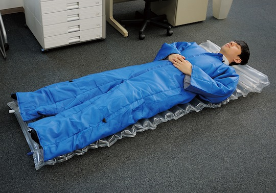 king jim wearable futon office blanket air mat