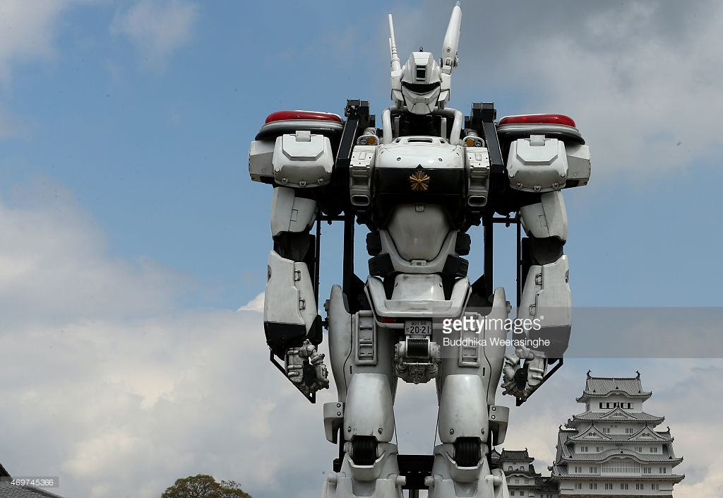 patlabor robot model himeji castle movie film promo