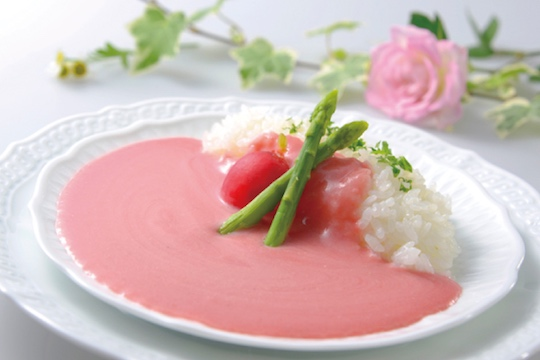 pink curry tottori yamanote story beetroot japan